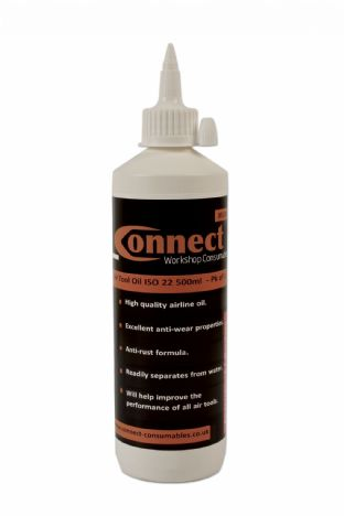 Connect 35330 Air Tool Oil ISO 22 500ml Pk of 1